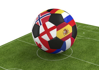 World Championship Ball - 3D