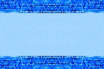 синий фон с орнаментом