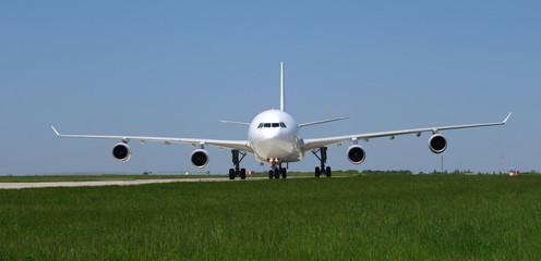 avion de ligne bannière