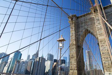 New York, the Brooklyn Bridge