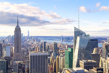 Photo sur Aluminium New York New York - Skyline from the Top of the Rock