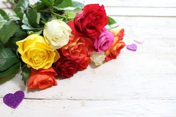 Herzlicher Rosengruß