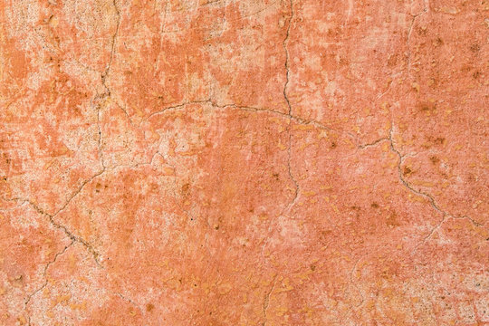 Brown adobe clay wall texture background. Material construction. Architectural detail. Vernacular architecture found in Africa and Asia.