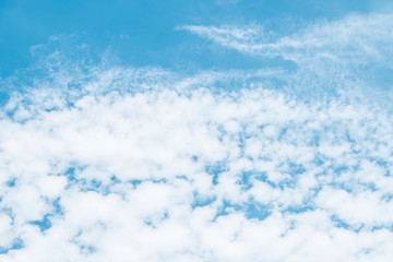 Clouds and blue sky.background
