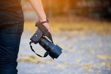 Hand and Camera Travel Cameras