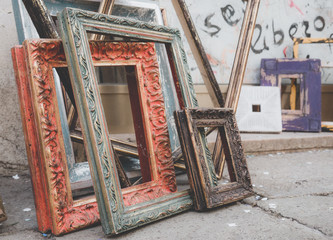 picture frames without canvas