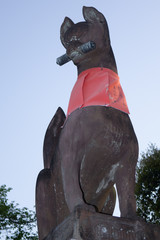 伏見稲荷大社の狛狐