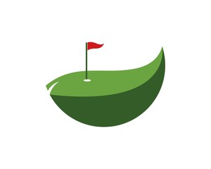 Golf logo design vector illustration