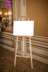 Easel for drawing
