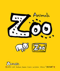 동물 일러스트 / 손으로 그린 동물 그림