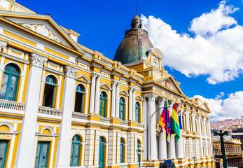 Bolivian Government Building, La Paz - Bolivia