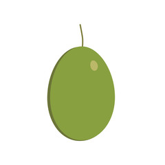 Olive icon in flat design