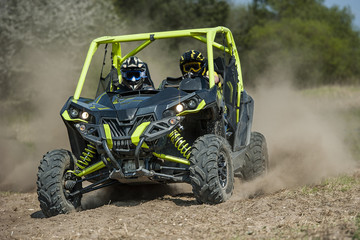 Papiers peints Motorise SSV vehicles in the action