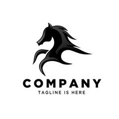 fast running horse logo