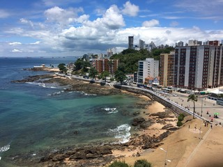 Salvador city view, Brazil