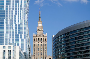 Warsaw, Poland - Palace of Science and Culture