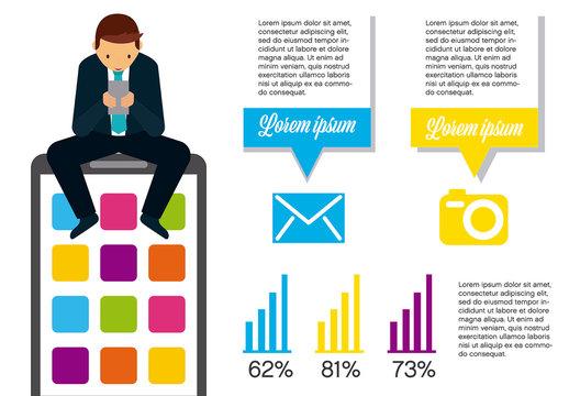 Illustrated Statistics Infographic