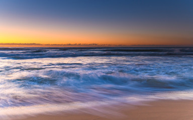 Capturing the Waves - Dawn Seascape