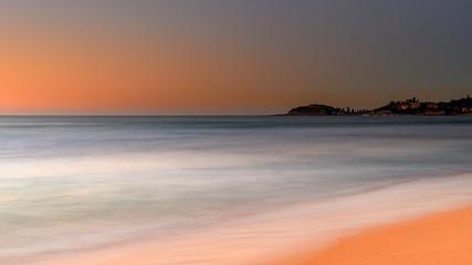 Soft Dawn Seascape and Headland