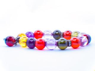 Jewel or Gemstone on black shine color, Collection