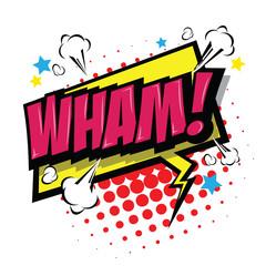 Wham! Comic Speech Bubble
