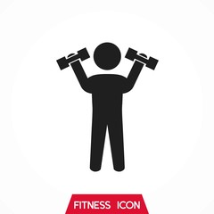 Gym Workout Icon Set