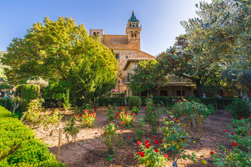 Wall Mural - Monastery garden of  Valldemossa village, Palma Mallorca, Spain