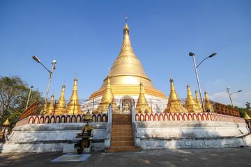 Beautiful Temple at Yangon, Myanmar.