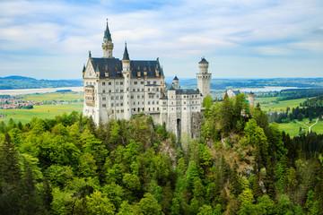 Schloss Neuschwanstein , Bayern , Deutschland