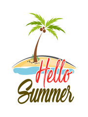 creative vector abstract for The Best Summer Time with nice and creative design illustration in a creative background.