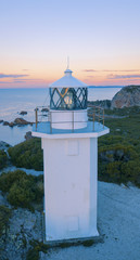 Rocky Cape Lighthouse during the daytime in Tasmania.
