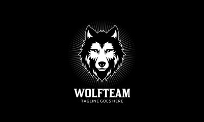 Wolf Head Vector Logo