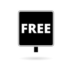 Free sign, Free vector icon