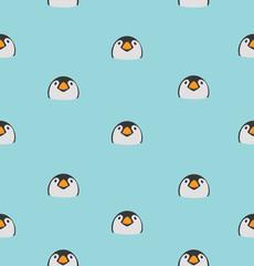 Head baby Penguin pattern