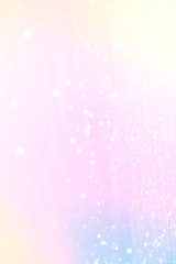 Magic glowing background with rainbow mesh. Fantasy unicorn  gradient backdrop  with fairy sparkles, blurs, glittering lights and  stars.