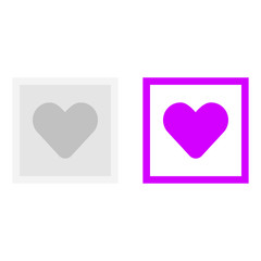 Picture of the heart icon