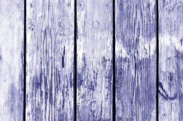 Wooden fence pattern in blue color.