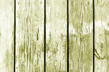 Wooden fence pattern in yellow color.