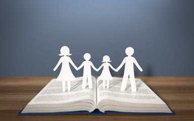 3d Buch Familie