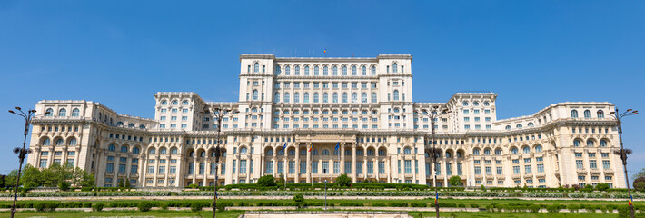 Building of Romanian parliament in Bucharest is the second largest building in the world, Rumania