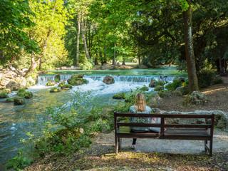 Entspannen im Englischer Garten, München