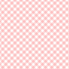 Square stripped textile pattern for your design, red strip over white, stock vector illustration