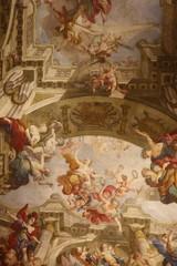 Fresque religieuse du Palais Kinský à Vienne