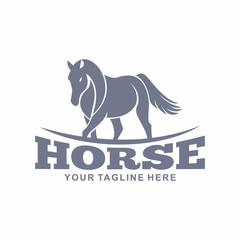 Horse Logo Vector Element Symbol