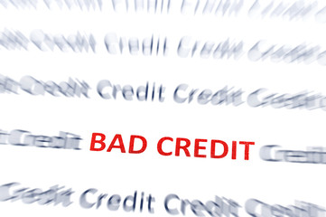 Bad Credit red