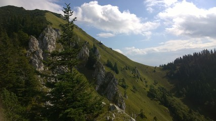 View from the hills. Slovakia
