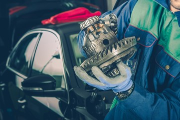 Car Differential Fixing