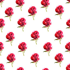 Floral seamless pattern background. Birthday and other holiday and summer background