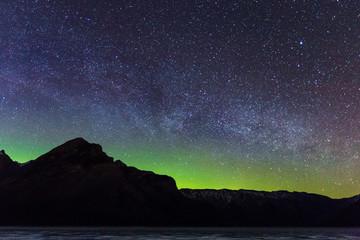Nothern Lights over Banff