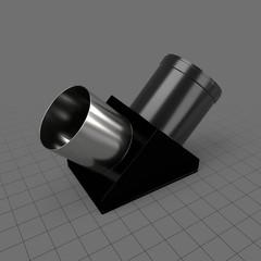 Telescope erecting prism adapter